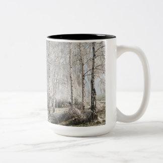 Ben een swinger van berken tweekleurige koffiemok