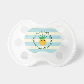 Ben een Unisex-Baby van het Inspirerend Citaat van Fopspenen