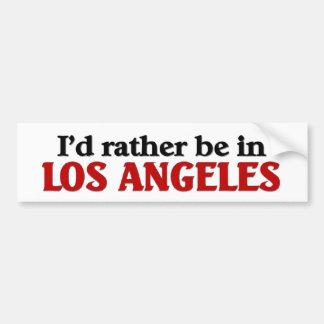 Ben eerder in Los Angeles Bumpersticker