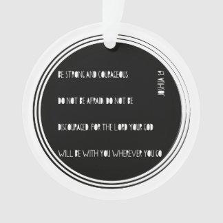 """""""Ben het Sterke en Moedige"""" vers van de Bijbel van Ornament"""