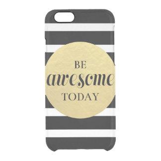 Ben het zwarte gouden wit van het Geweldige Doorzichtig iPhone 6/6S Hoesje