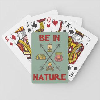 Ben in Natuur Speelkaarten