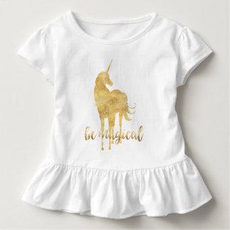 Ben Magische Gouden Eenhoorn Kinder Shirts