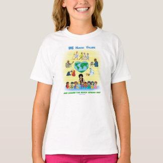 BEN Menselijke Waarden - het Inspirerend Ontwerp T Shirt