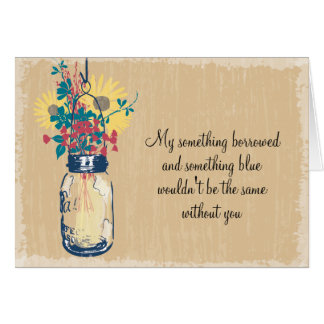 Ben Mijn Bruidsmeisje - de Kruik & Wildflowers van Kaart