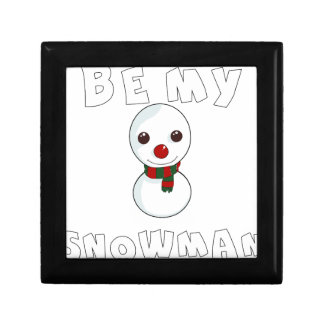 ben mijn sneeuwman decoratiedoosje