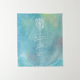 Ben Moedige Waterverf | Tapijtwerk Wandkleed