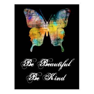 Ben Mooi, ben Vriendelijke Vlinder Briefkaart