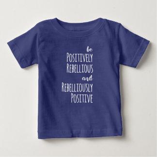 Ben positief Rebelse anti-Troef verzetten Baby T Shirts