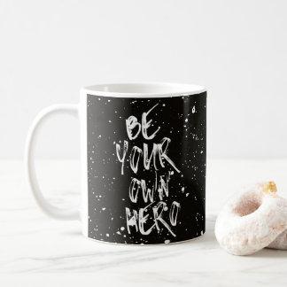 Ben Uw Zwart) Citaat Eigen van de Held ( Koffiemok