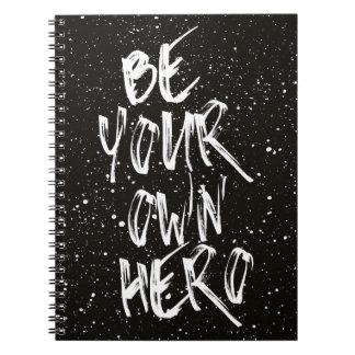 Ben Uw Zwart) Citaat Eigen van de Held ( Notitieboek