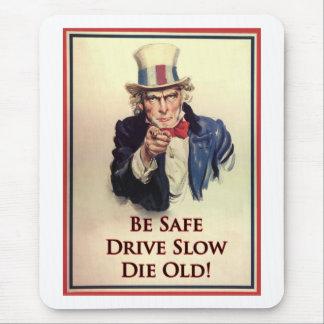 Ben Veilige Oom Sam Poster Muismat