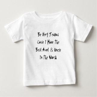 Ben zeer Jaloerse Oorzaak ik de Beste Tante & de Baby T Shirts