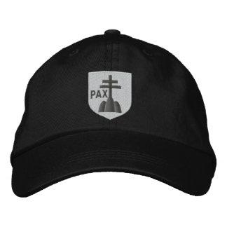 benedictines wapenschild geborduurde pet