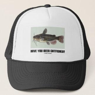 Bent u Catfished geweest? (De Illustratie van de Trucker Pet