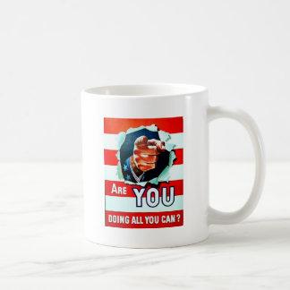 Bent u die Al Youcan doen Koffiemok
