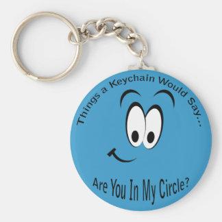 Bent u in Mijn Cirkel Lt. Keychain Sleutelhanger