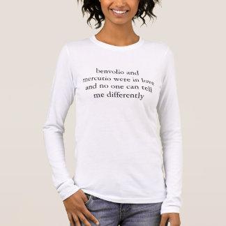 benvolio en mercutio waren in liefde t shirts