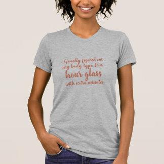 berekende mijn lichaamstype grappig t-shirtontwerp t shirt