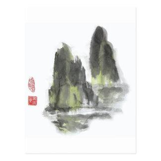 Berg van de Reuzen in Wit briefkaart