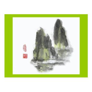 Berg van het Briefkaart van Reuzen