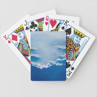 Bergen en Wolken Poker Kaarten