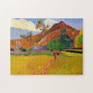 """Bergen in Tahiti"" - Paul Gauguin Puzzel"
