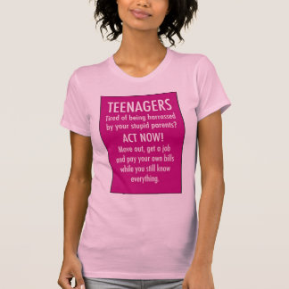 Bericht aan Tiener T-shirt