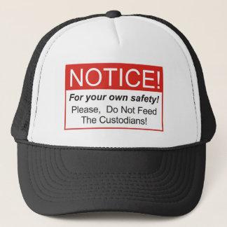 Bericht/Beheerder Trucker Pet