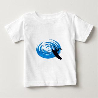 Berijd de Stroomversnelling Baby T Shirts