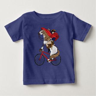 Berijdt Who van het Paard van Napoleon Berijdende Baby T Shirts