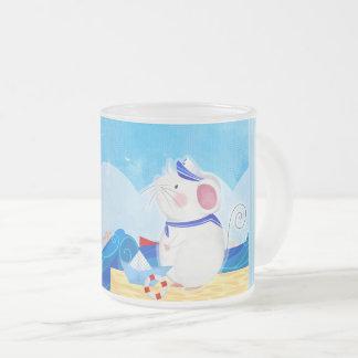 Berijpte het glasmok van de muis Zeeman Matglas Koffiemok