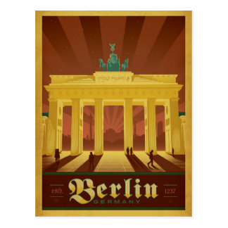 Berlijn, Duitsland Briefkaart