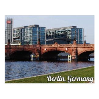 Berlijn Duitsland - de Zonnige Dag van de Lente Briefkaart