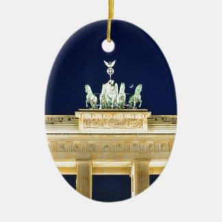 Berlijn, Duitsland Keramisch Ovaal Ornament