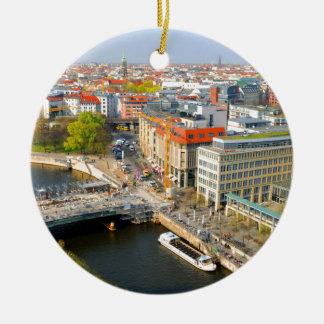Berlijn, Duitsland Rond Keramisch Ornament