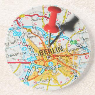 Berlijn, Duitsland Zandsteen Onderzetter