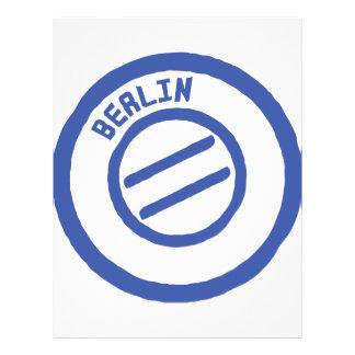 Berlijn Gepersonaliseerde Folder