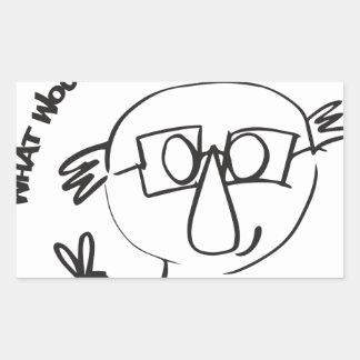 Bernie Anna Final Rechthoekige Sticker