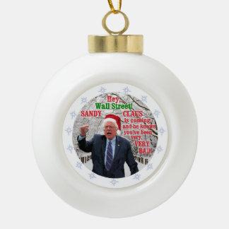Bernie Sanders 2016 Keramische Bal Ornament