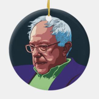 Bernie Sanders - col. Rond Keramisch Ornament