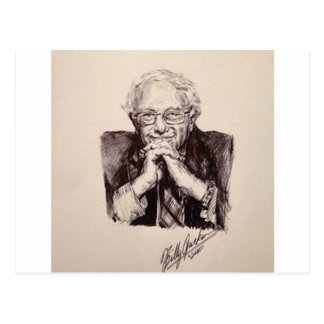 Bernie Sanders door Billy Jackson Briefkaart