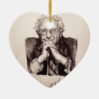 Bernie Sanders door Billy Jackson Keramisch Hart Ornament