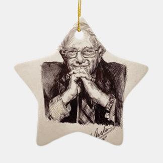 Bernie Sanders door Billy Jackson Keramisch Ster Ornament