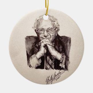 Bernie Sanders door Billy Jackson Rond Keramisch Ornament