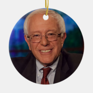 Bernie Sanders Rond Keramisch Ornament