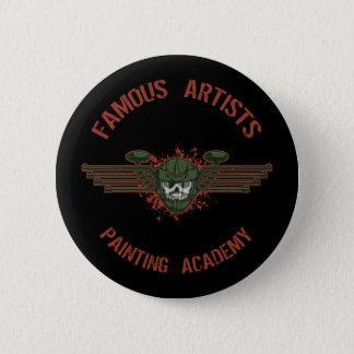 Beroemde Kunstenaars Paintball Ronde Button 5,7 Cm