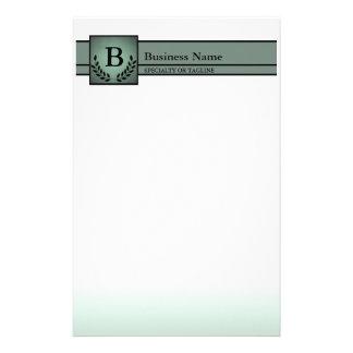 beroeps met monogram briefpapier