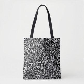 Bescheiden Zwart-wit Canvas tas