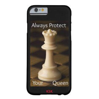 BESCHERM ALTIJD UW KONINGIN BARELY THERE iPhone 6 HOESJE